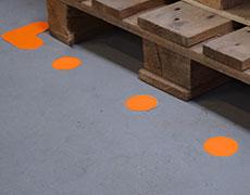 Muotoillut lattiamerkinnät