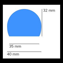 Suoja, malli 3 - 1 metri