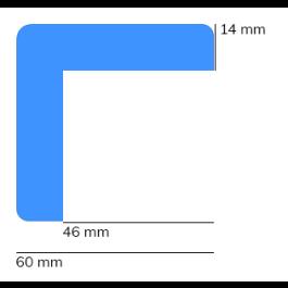 Suoja, malli 8 - 1 metri