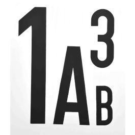 Magneettikirjaimet ja -numerot (per pala)