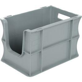 200x300x200 mm suoraseinäinen säilytyslaatikko eurolaatikko avoimella etuosalla
