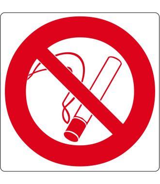 """""""Tupakointi kielletty"""" -lattiakuvake"""