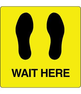 """""""Wait Here"""" -lattiakuvake"""