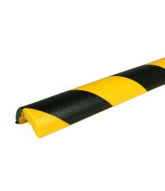 PRS-suoja putkiin, malli 5 - keltainen/musta - 1 metri