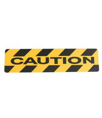 """Caution"" liukuesteteippi"
