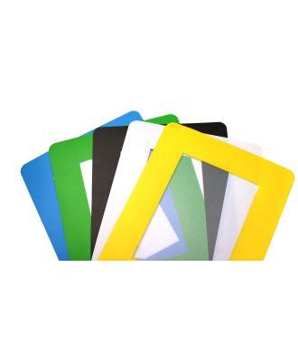 ColorCover itsekiinnittyvä läpinäkyvä asiakirjasuoja lattiaan (10 kpl)