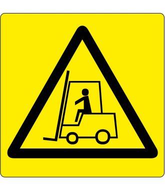 """Lattiakuvake """"varoitus: trukkialue """""""