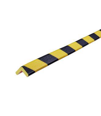 Knuffi kulmapuskuri, tyyppi E - keltainen/musta - 5 metri