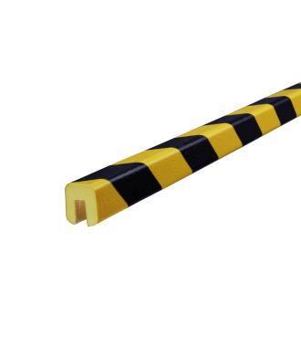Knuffi reunapuskuri, tyyppi G - keltainen/musta - 5 metri