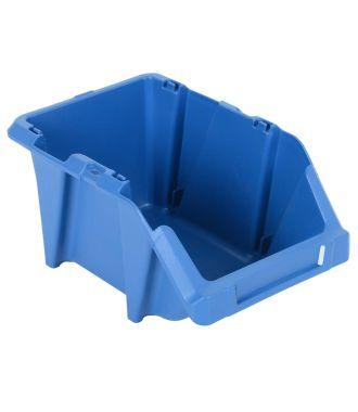 Muovinen hyllylaatikko 153x244x123 mm