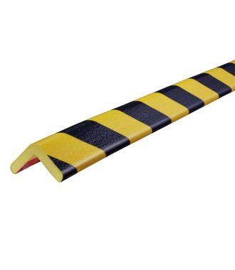 Knuffi kulmapuskuri, tyyppi H - keltainen/musta - 5 metri