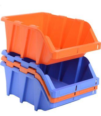 Muoviset hyllylaatikot
