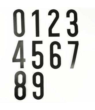 Itsekiinnittyvä numerosarja (0-9)