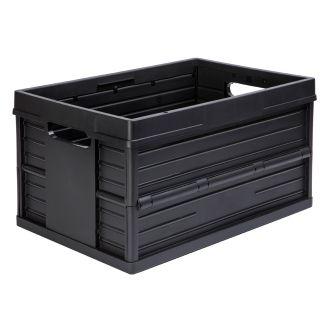 Evo Box taittuva lisäkori - 46 litraa, musta