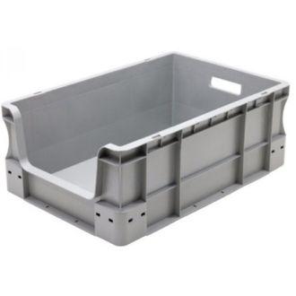 400x600x230 mm suoraseinäinen säilytyslaatikko eurolaatikko avoimella etuosalla