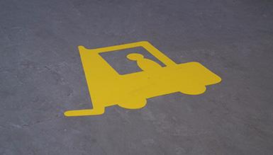 Kuljetuskaluston ja jalankulkijoiden erottaminen